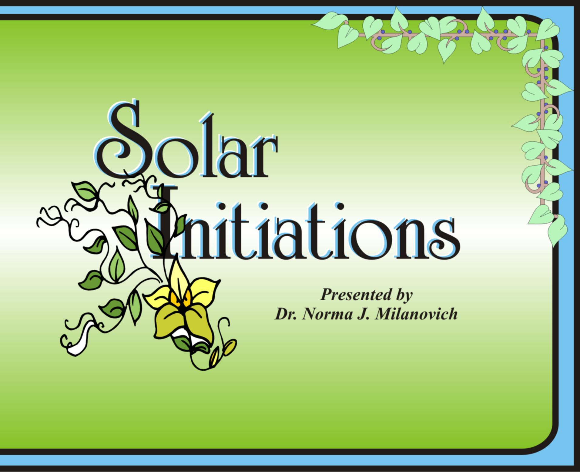 Solar Initiations CD Set of 6 with Booklet