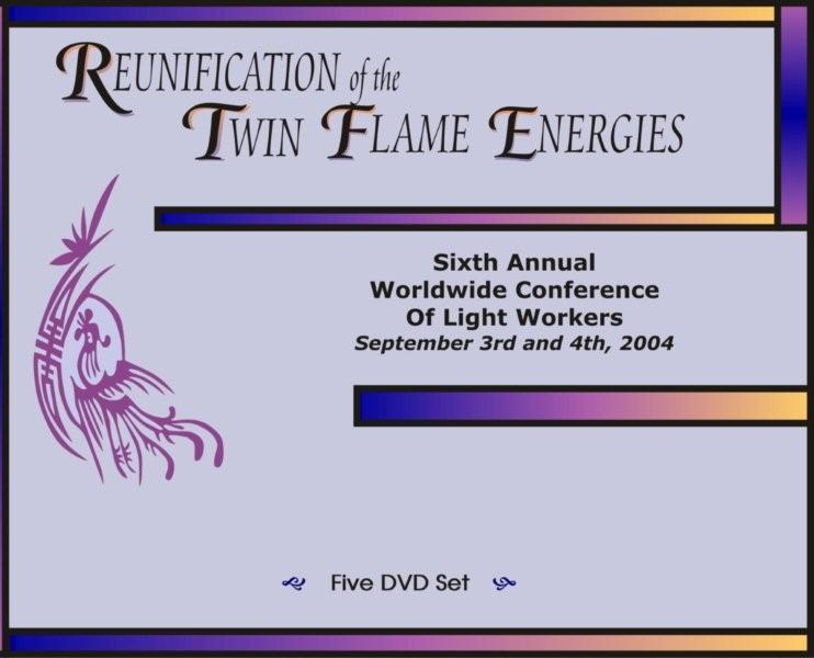 Reunification of the Twin Flame Energies DVD Set